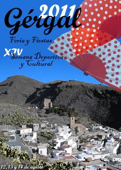 Feria y Fiestas de Agosto 2011 en Gérgal (Almería)