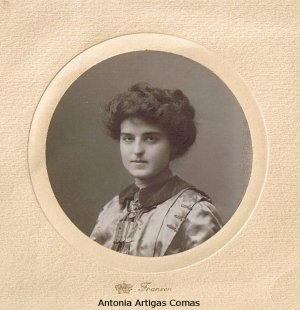 Conoce a Antonia Artigas, nombre del Colegio Público de Gérgal