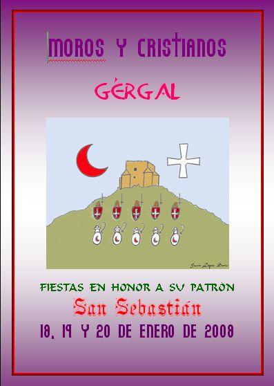 FIESTAS DE MOROS Y CRISTIANOS EN HONOR A SAN SEBASTIÁN 2008