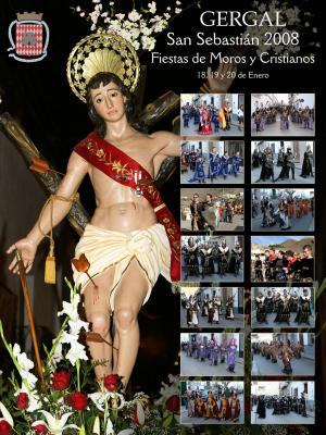 CARTEL DE LAS FIESTAS DE MOROS Y CRISTIANOS DE GÉRGAL