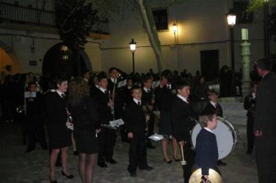 SEMANA SANTA DE GÉRGAL 2008: PROCESIÓN VIERNES SANTO CON LA BANDA DE MÚSICA