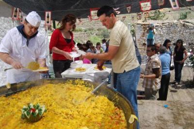 Fiestas de El Almendral, anejo de Gérgal, 2008